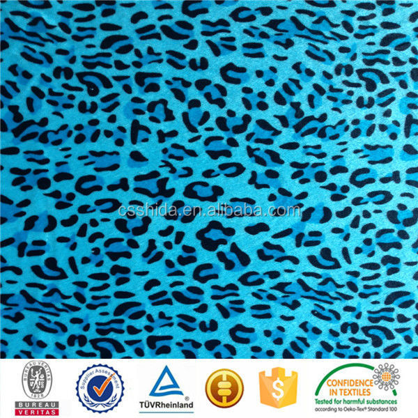 100% polyester 4 spendex knitted fabric