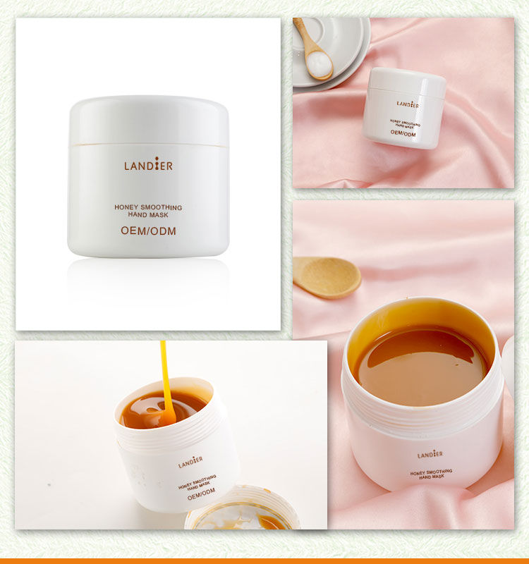 Private label Best Skin care Honey Nourishing and Moisturizing Hand cream mask for daily Repairing