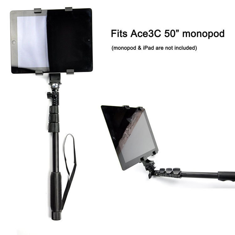 Oem Logo And Packaging Box Laptop Stand Holder Adapter Arm For Camera  Tripod For Tablet Mid Laptop 7 To 10 2inch Cradle - Buy Laptop Stand Holder