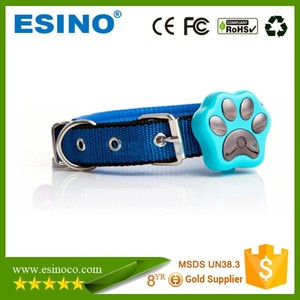 Mini GPS GSM TrackerWIFI Anti lost Alarm Dog Collar Tracker Pet Small Pet Tracker Smart LED Indicator