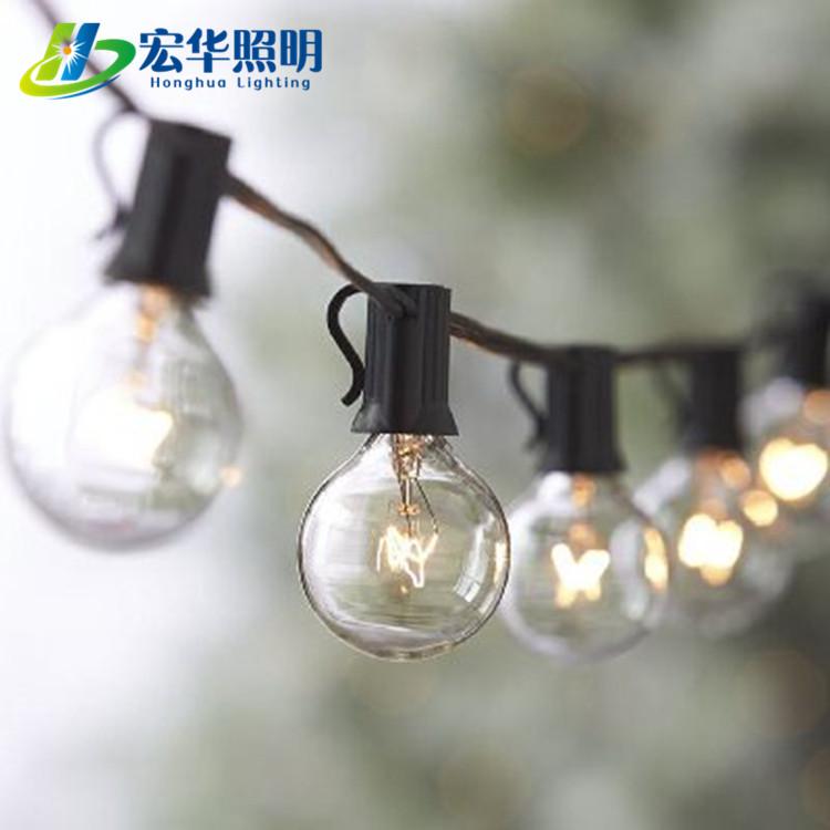 G40 E12 E14 110v Edison Style Christmas String Lights Bulb For Home Decoration Outdoor