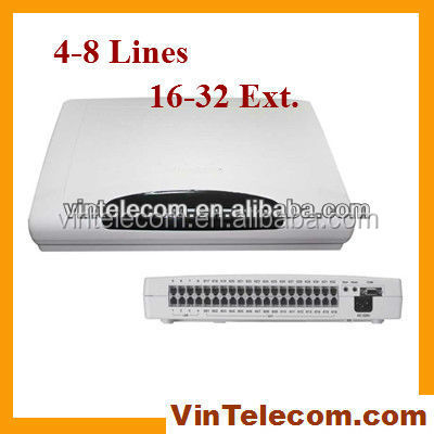 Mini Pbx System/ Telephone Switch System Cp832 8 Co Lines X 32 ...
