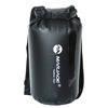 0.52mm PVC Tarpaulin Waterproof Backpack Transparent Window Dry Bag With Your Custom Logo for Swimming Drifting