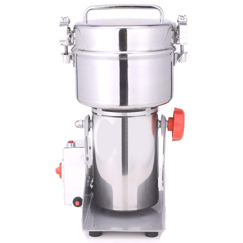 DaMai 1000g Stainless Steel Electric Grinder Mill for Grinding Grains Spice Herb Grinder,Pulverizer 110v/220v Gift For Mom, Wife