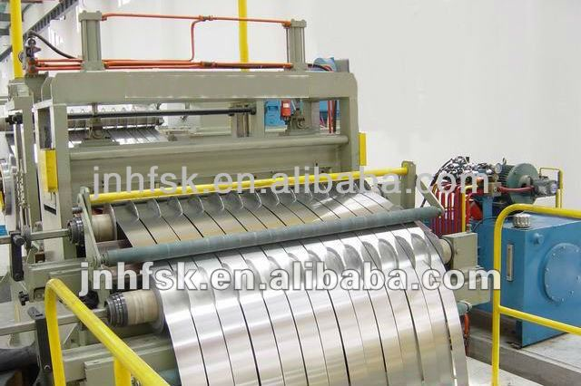 High Speed Hot Roll / Cold Roll Steel Cutting Machine for Metal Coil
