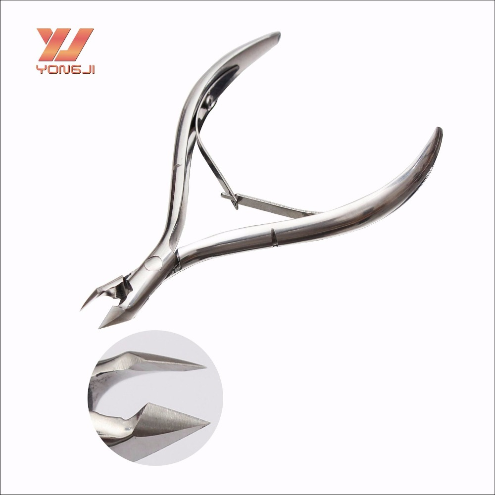China factory sell directly stainless steel nail nipper sharpening cuticle nipper for dead skin with competive price
