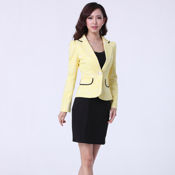 China Women Office Formal Uniform Supplier Las Short Skirt Designs