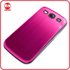 RF Manufacturer Luxury Ultra Thin Battery Back Cover Housing Brushed Aluminum Metal Case for Samsung Galaxy S3 I9300