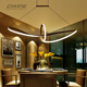 Flush mount 97*36*26cm high ceiling metal chandelier modern