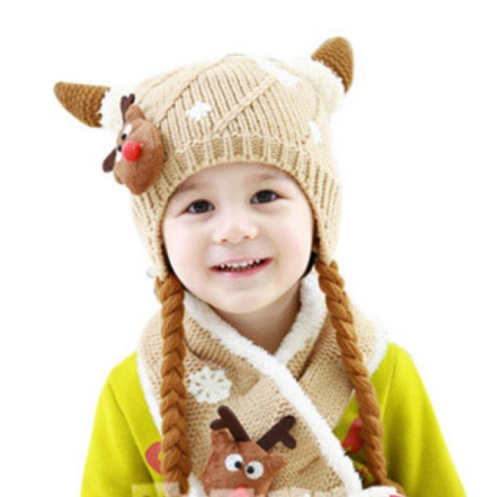 Get Quotations · AStorePlus Kids Hat Scarf Set 1a22f1fc6e22