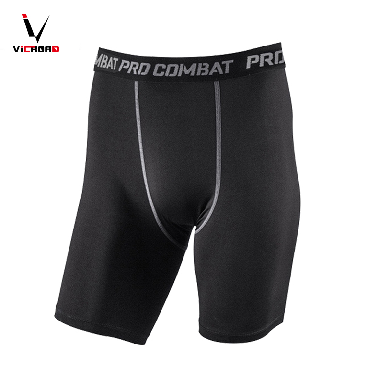 Professional Fitness Quick-Drying Men's Bodyboulding Compression Male Shorts Pants