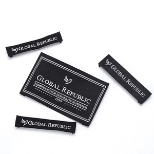 Factory Price Custom Famous Woven Labels For Clothing