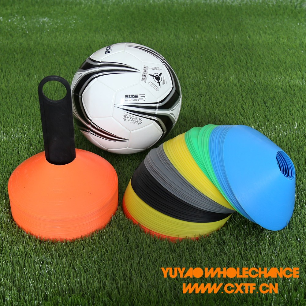 2 inch Soft PE Material Sports Agility Training Flat Soccer Disc Cones