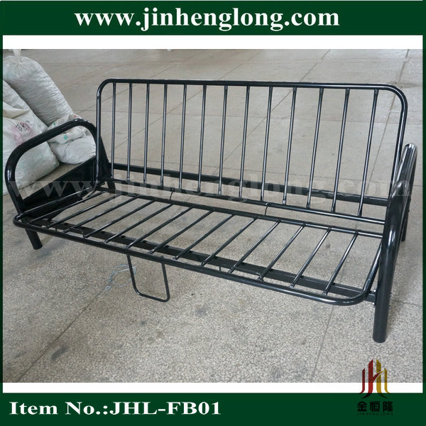 2 Fold Metal Futon Bed View Jinhenglong Product Details From Foshan Furniture Co Ltd On Alibaba Com