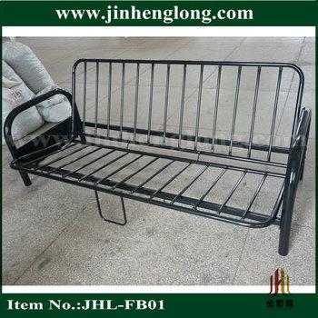 2 Fold Metal Futon Bed