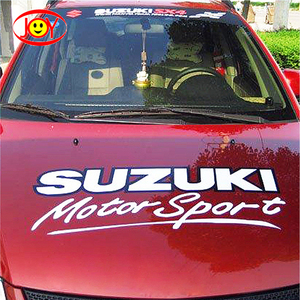 Custom Design 3m Removable PVC Sticker For Car Body Decals Printing