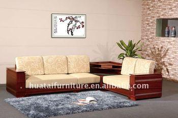 Wooden Frame Home Corner Sofa Sf 11 081