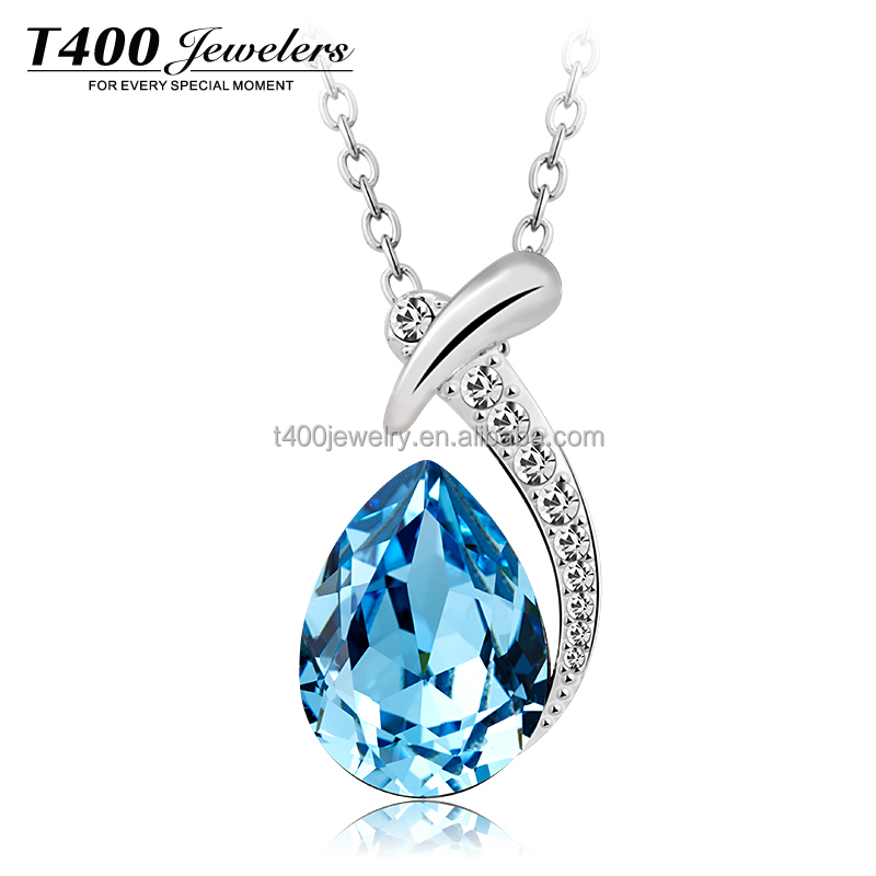 T400 Fashion Pendant Necklace made with Swarovski elements for Women Fancy and Elegant#1871