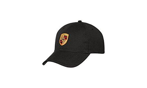 1675f74dc66 Buy Porsche Black Crest Logo Cap
