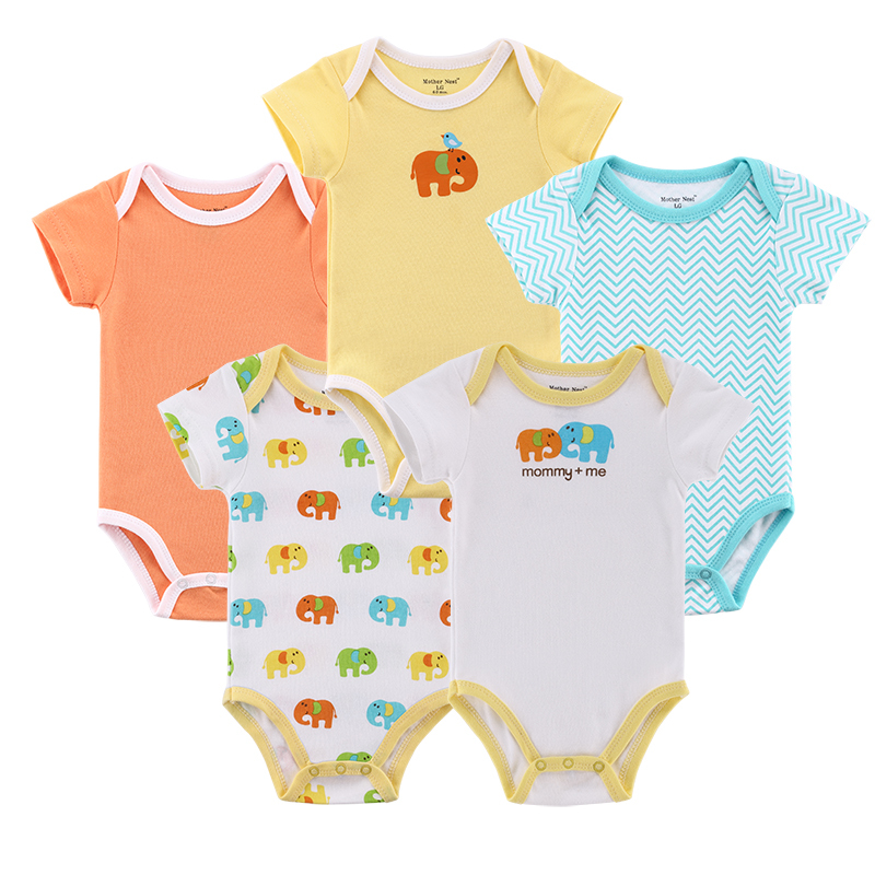 6d179e65127 5 pieces  lot Baby Clothing Sets New 2014 Baby Clothing Carters Girls Boys  Bodysuits Bebe