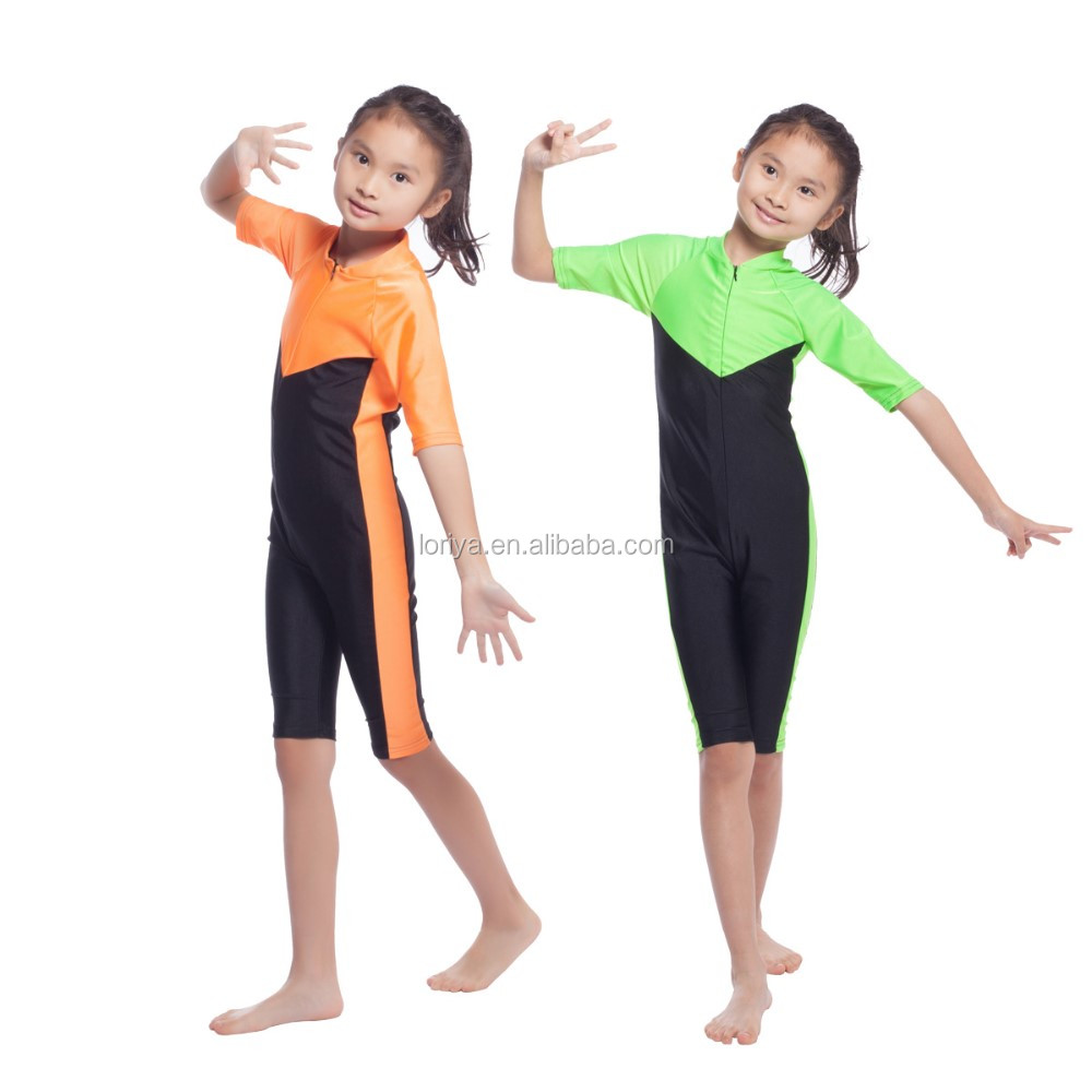 Hot selling swimwear muslim child swimsuit