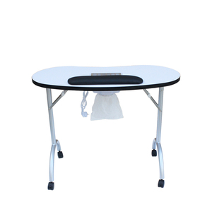 fold away manicure table for salon centric salon equipment (KZM-N78)