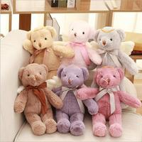 1PC 40CM New Arrival Cute Cartoon Angel Teddy Bear Plush Toy Stuffed Animal Dolls Girl Gifts And Christmas Gifts For Kids