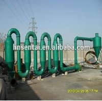 Quality suction air flow dryers for wood sawdust
