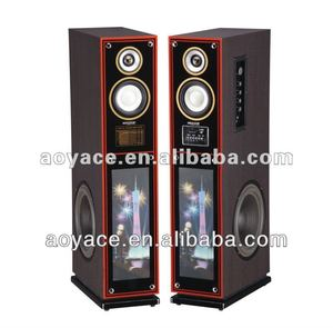2.0 usb speaker with usb/sd/karaoke/3d pic