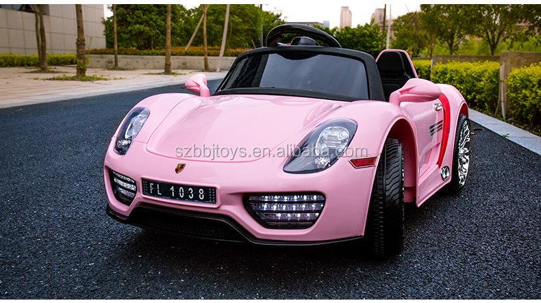 remote control ride on car pinkkids ride on rc car pinkpink ride