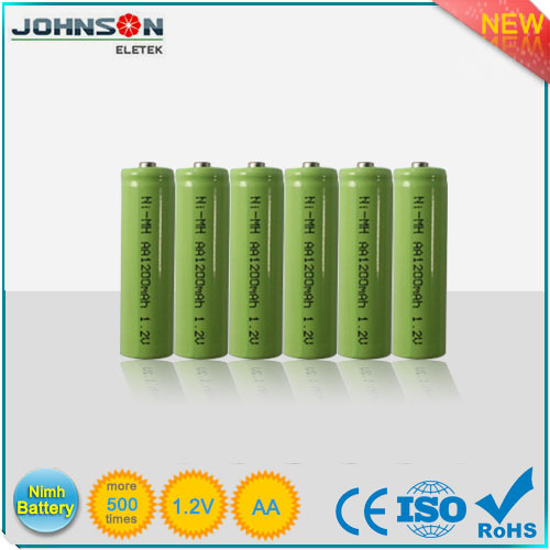 Environmental 1.2v aa Nimh rechargeable battery pack