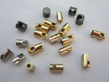 manufacturer crimp bead cord end / leather crimp ends /leather cord for jewerly making