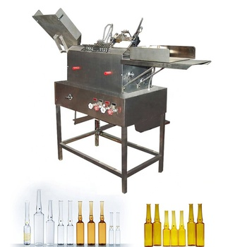 Glass Ampoule Two Needle Ampoule Filling And Sealing Machine