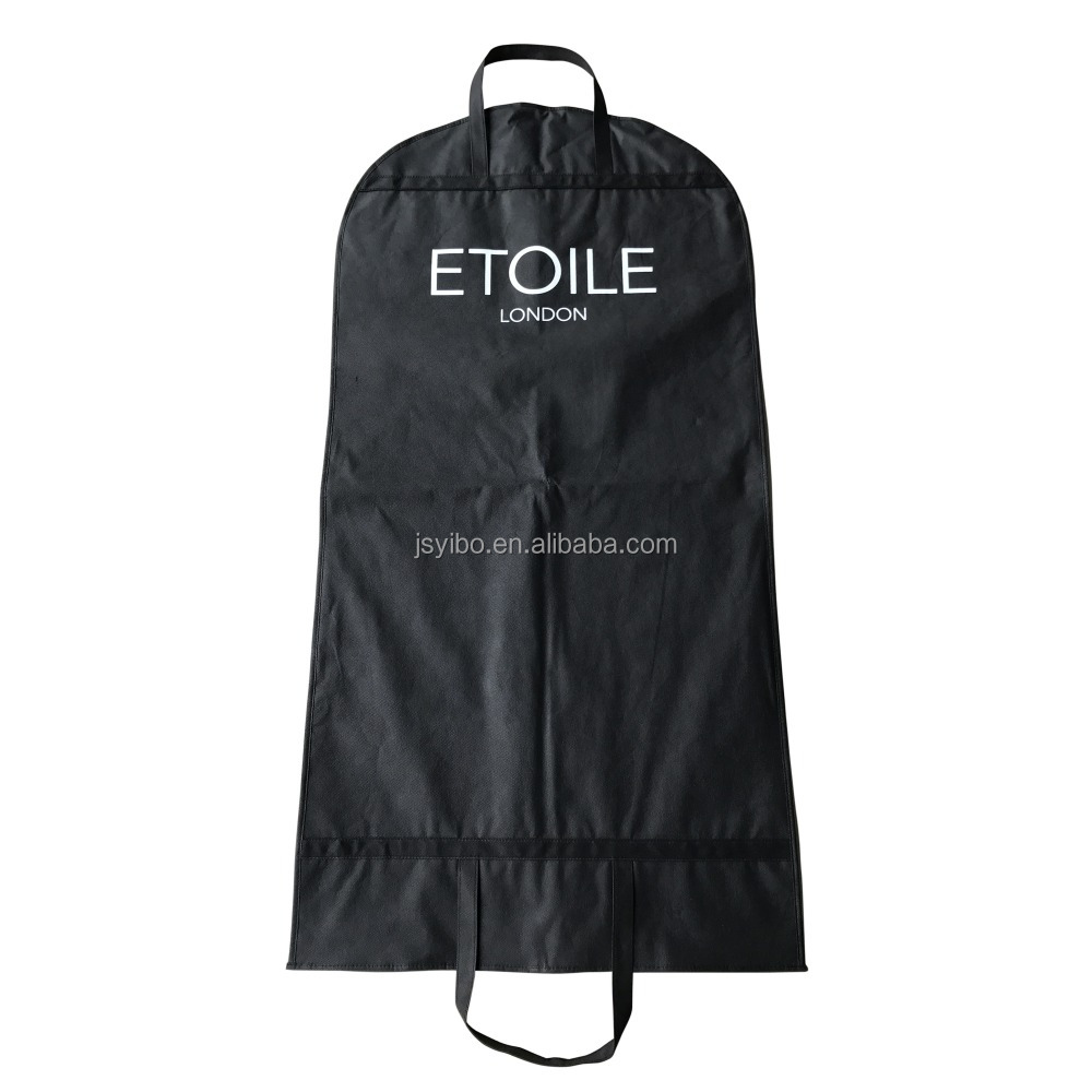 custom wedding dress garment bag/garment bag suit cover