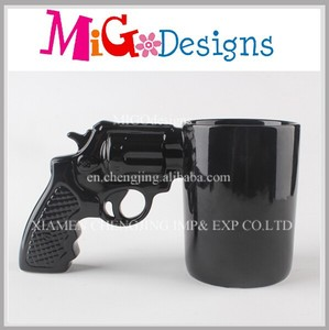 Ceramic Wholesale Ceramic Customized Special Gun Mug