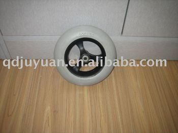 Hot sale High quality LINE PATTERN 200*50 PU FOAM WHEEL