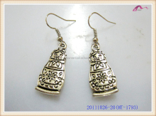 Fashion Silver Metal Earrings For Girls