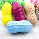 17.5cm Big Peanut Squishy Toys Slow Rising Squeeze Phone Straps Accessories Jumbo Toy Antistress Squeeze Toy For Kids
