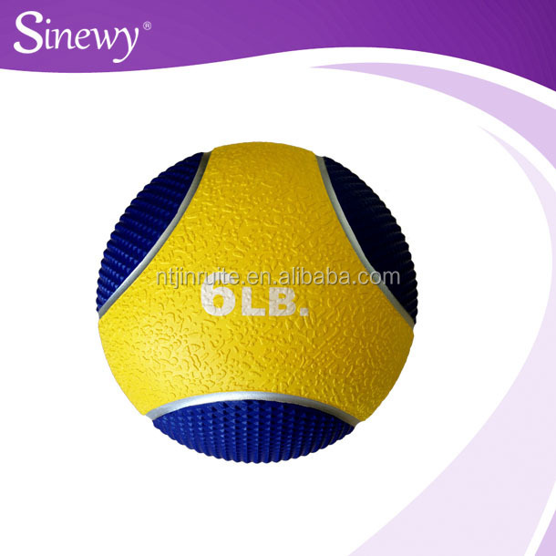 Fitness double colour medcine ball