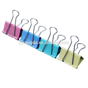 Hot Sale Different Color Binder Clip