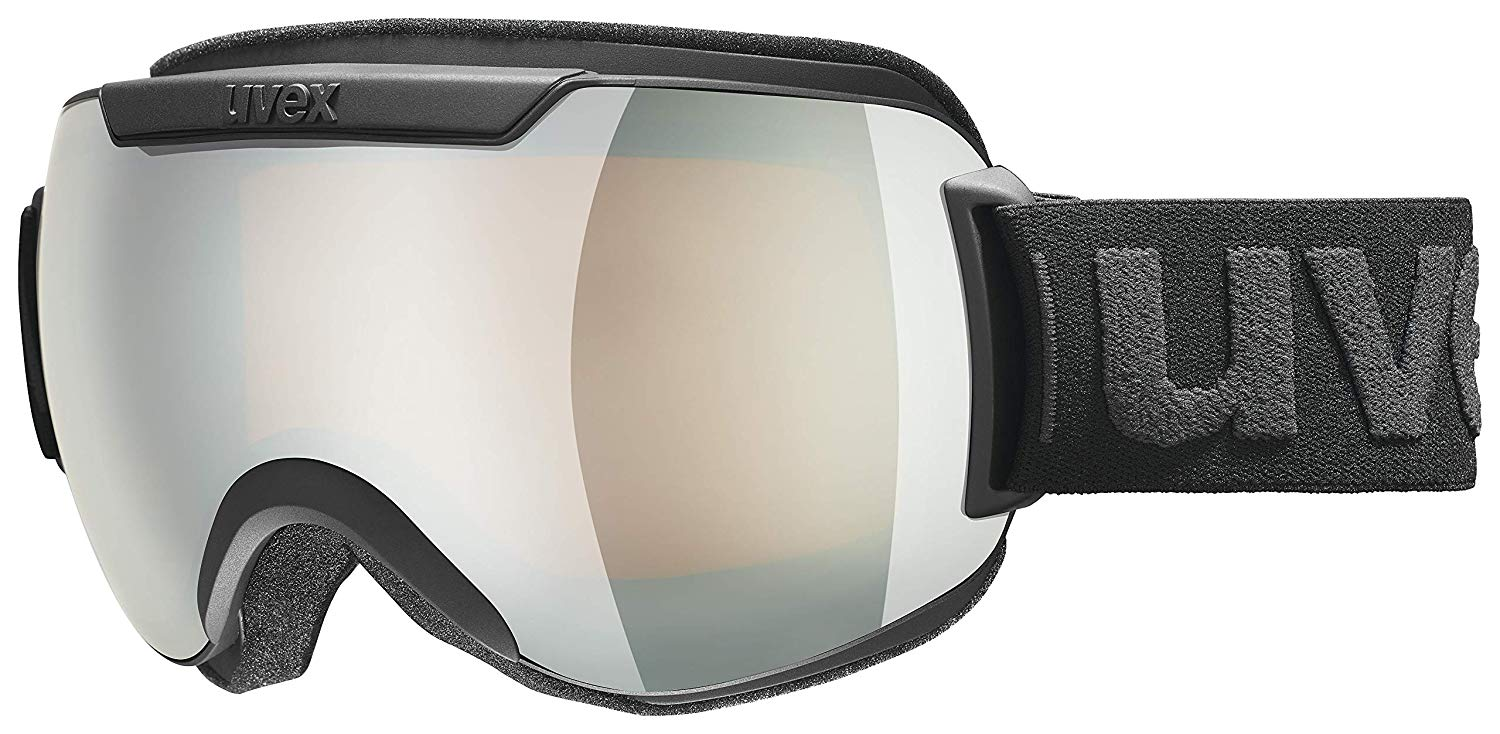 36df7d4e225f Get Quotations · Uvex Downhill 2000 FM Goggle - 2019 Black Mat  Silver Silver Mirror S3