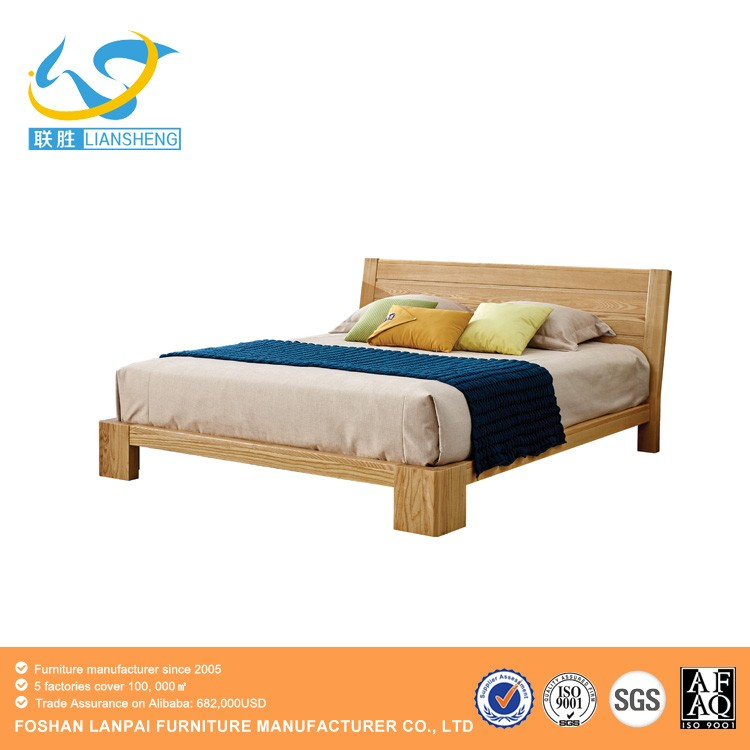 Wholesale latest double bed designs wooden bed designs for Latest wooden bed designs