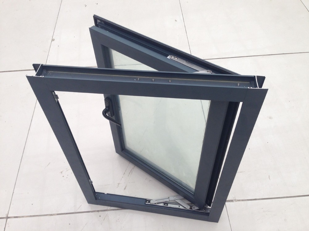 Building Aluminum Frames : Commercial building single pane aluminum window frame