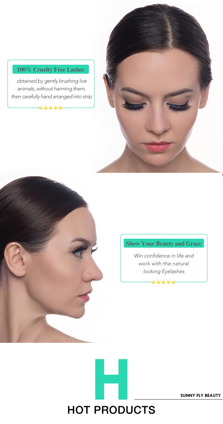 प्राकृतिक वितरकों नि: शुल्क नमूने कस्टम पैकेजिंग 3d मिंक eyelashes विक्रेता