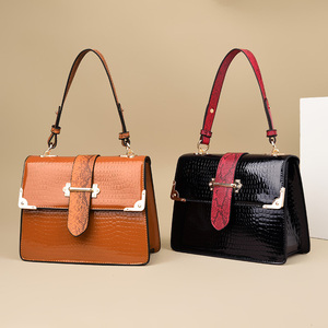 Wholesale Handmade Ladies Crossbody Bags Messenger Hand Bags Crocodile Leather Designer Women Bag Handbags