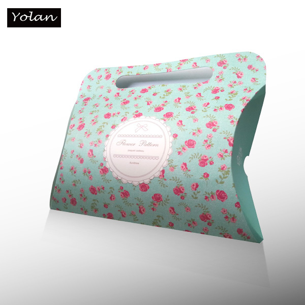 Paper Pillow Box With Handle