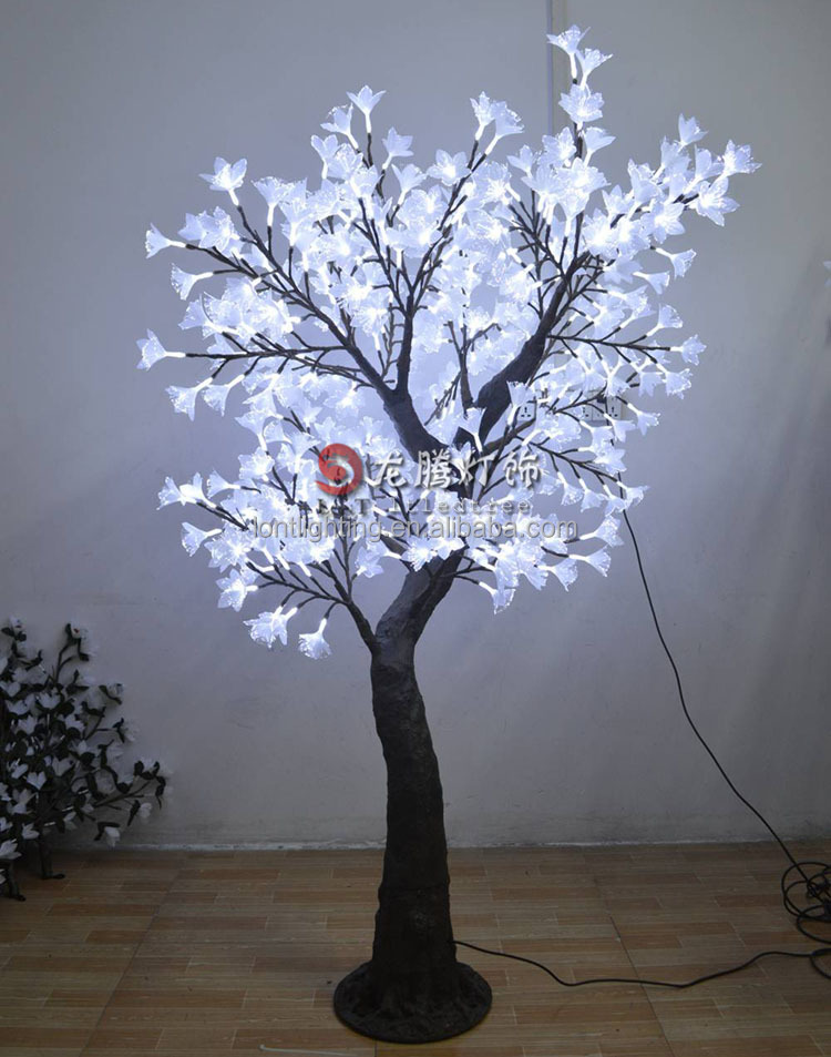 RGB Newest Fibre optic led christmas flower lights tree
