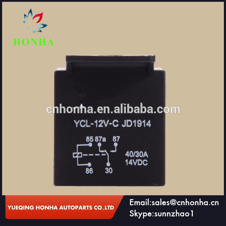 5 pins 12v 30A/40A Automotive Car Auto Relay
