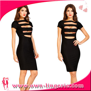 Desire Celebrity Bandage Bodycon Dress Wholesale Plus Size Bodycon