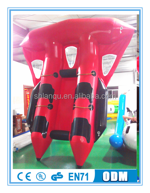 Exciting Water Game inflatable flying manta ray